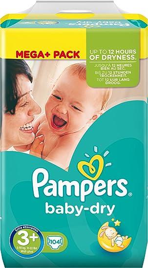 pampers größe 3 baby dry