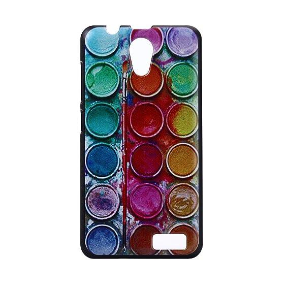 Amazon com: For Lenovo A319 , ivencase Colorful Button Pigment