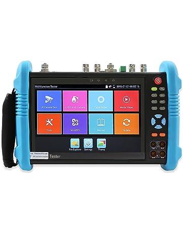 Electop 7 Inch CCTV Tester Onvif IP Camera Tester Touch Screen Monitor AHD,HD-TVI,HD-CVI HDMI 1080P,PTZ Control,POE,WiFi,IP Scan,Port Flashing ADH 8600 Plus