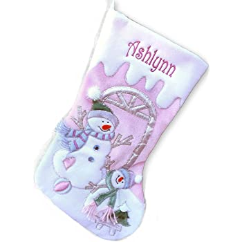 Amazon.com: Baby's First Personalized Christmas Stocking ...