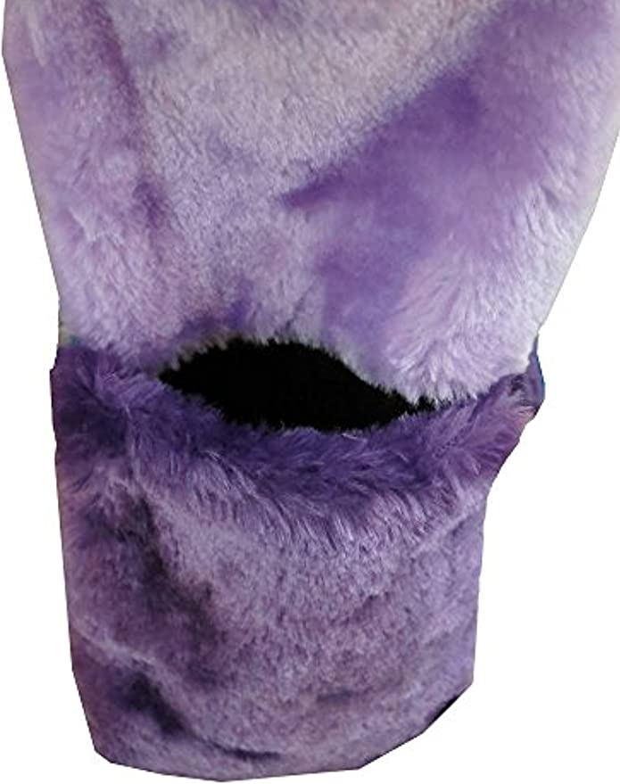 Flowers Plant Painting lavender Winter Earmuffs Ear Warmers Faux Fur Foldable Plush Outdoor Gift