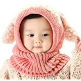 IMLECK Magnificent Baby Unisex-Warm Puppy Cloak Scarf Shawl Baby Infant Smart Hat - 2018 Best Gift in USA