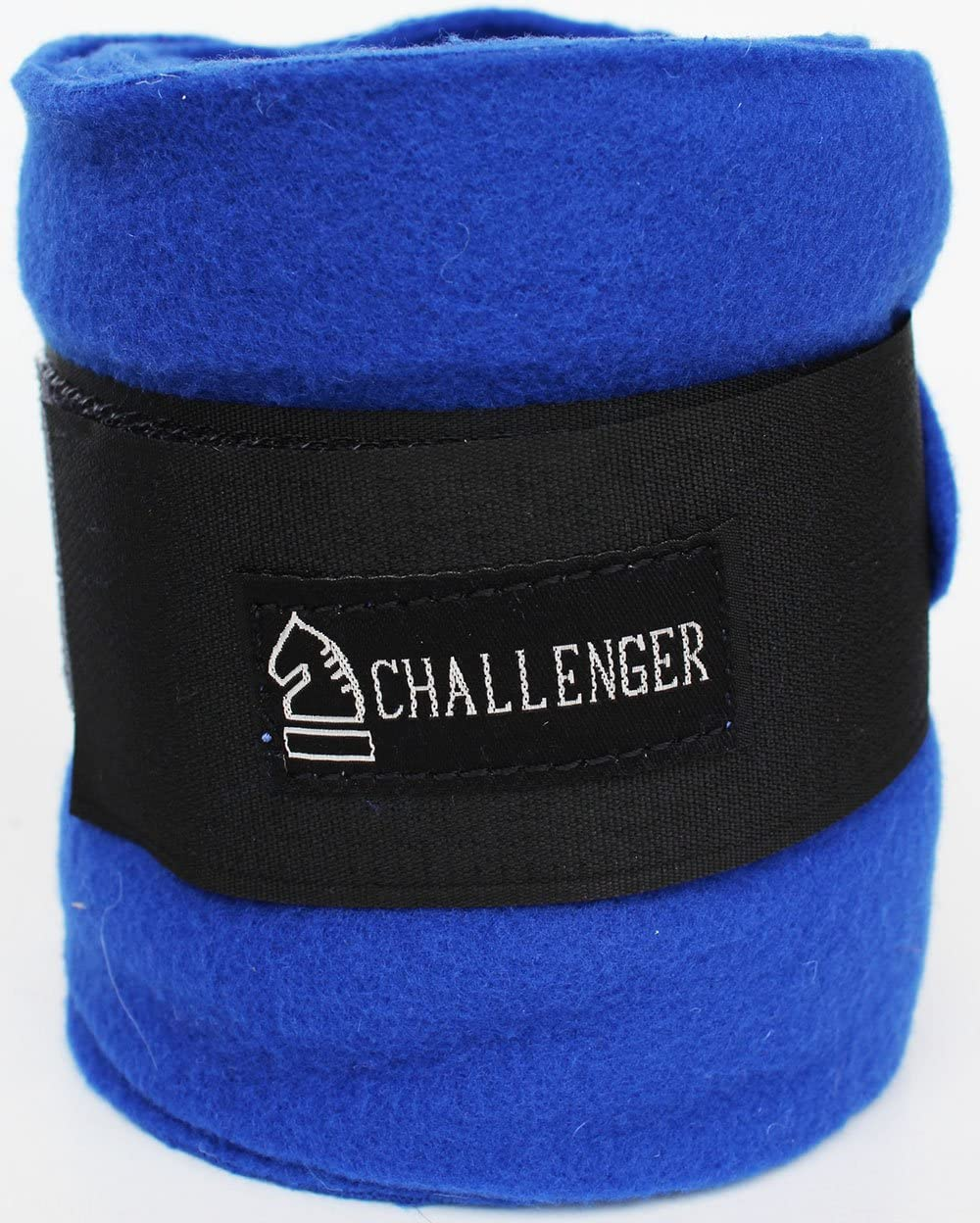 10ft Horse Grooming Leg Polo Wrap Set of 4 Soft Fleece 95R Royal Blue