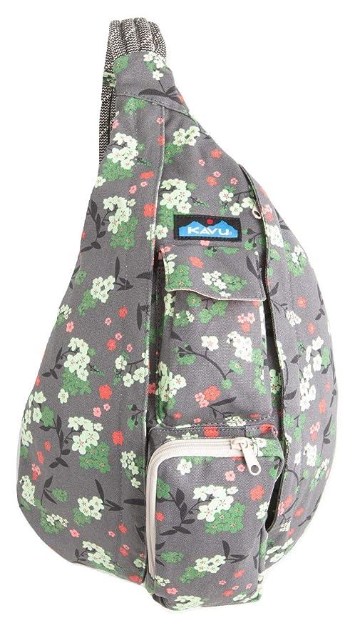 KAVU Rope Bag Shoulder Sling Bag - Forest Blossom