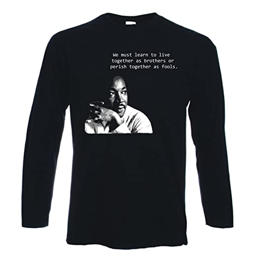 Amazon Com Tribal T Shirts Men S Martin Luther King Quote Long
