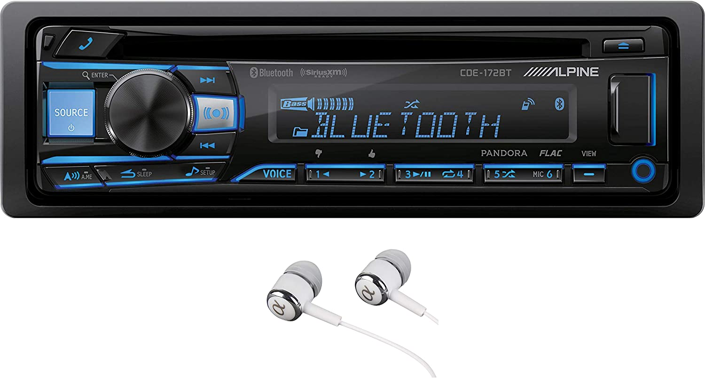 Alpine CDESXM145BT Advanced Bluetooth CD SiriusXM Receiver