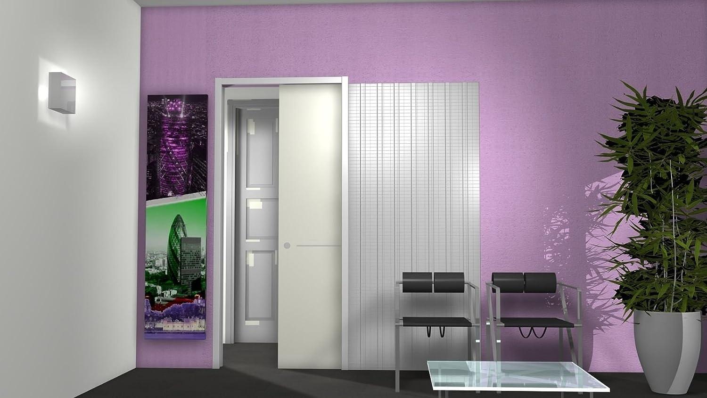 Intrek - Contramarco para puerta retráctil, puerta corrediza, tipo cofre: Amazon.es: Bricolaje y herramientas
