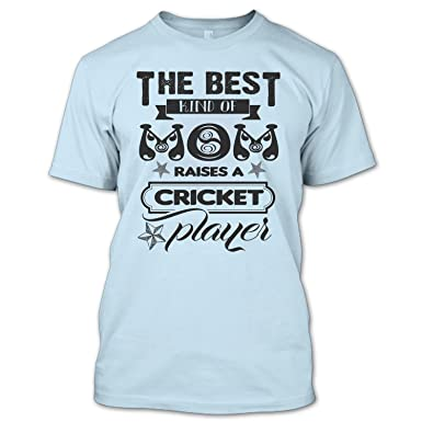 5ba395826 Funny The Best Kind Of Mom Raises A Cricket Player T Shirt, Cricket Player  Shirt