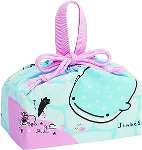 San-X Jinbesan Whale Shark Drawstring Bag for Lunch Box KB7