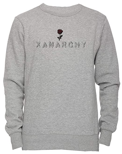 Erido Xanarchy Unisexo Hombre Mujer Sudadera Jersey Pullover Gris Todos Los Tamaños Mens Womens Sweatshirt Grey: Amazon.es: Ropa y accesorios