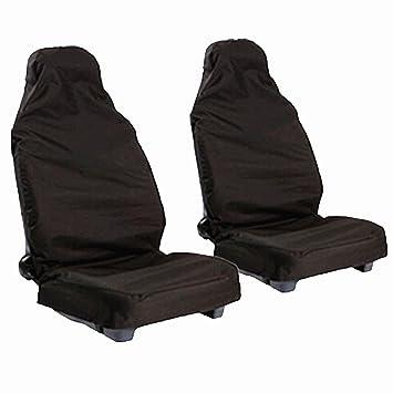 Werkstattsitzbezug mit Taschen Schonbezug Nylon passend für Mercedes Citan.
