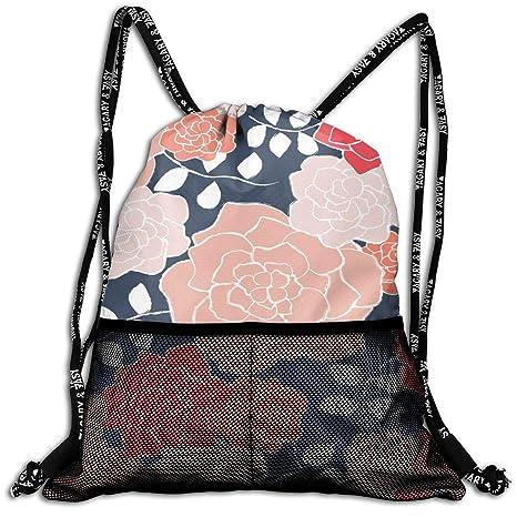 Amazon.com: Floribunda - Mochila de coral con diseño de ...