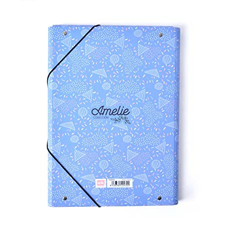 Grupo Erik Editores Carpeta Solapas Amelie (Editado en Italiano): Amazon.es: Oficina y papelería