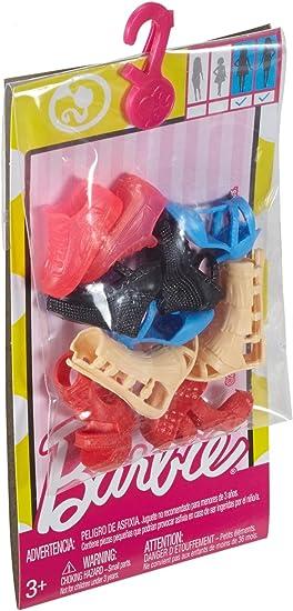 Amazon.es: Barbie Pack de Zapatos: Juguetes y juegos