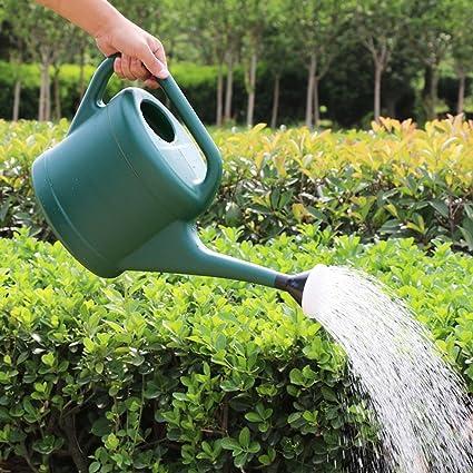 YXLAB Pote de riego de plástico Olla de riego Botella de agua hirviendo Inicio Regado de