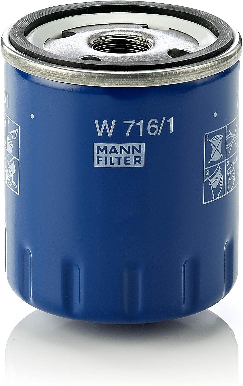 Original Mann Filter Ölfilter W 716 1 Für Pkw Auto