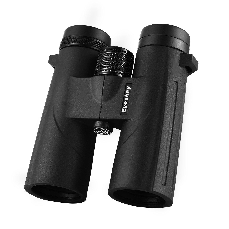Eyeskey LargeサイズHigh Definition 8 X 56防水bak4ルーフプリズム双眼鏡with Carryingバッグ B07542L42C  8X42 Black Binoculars003