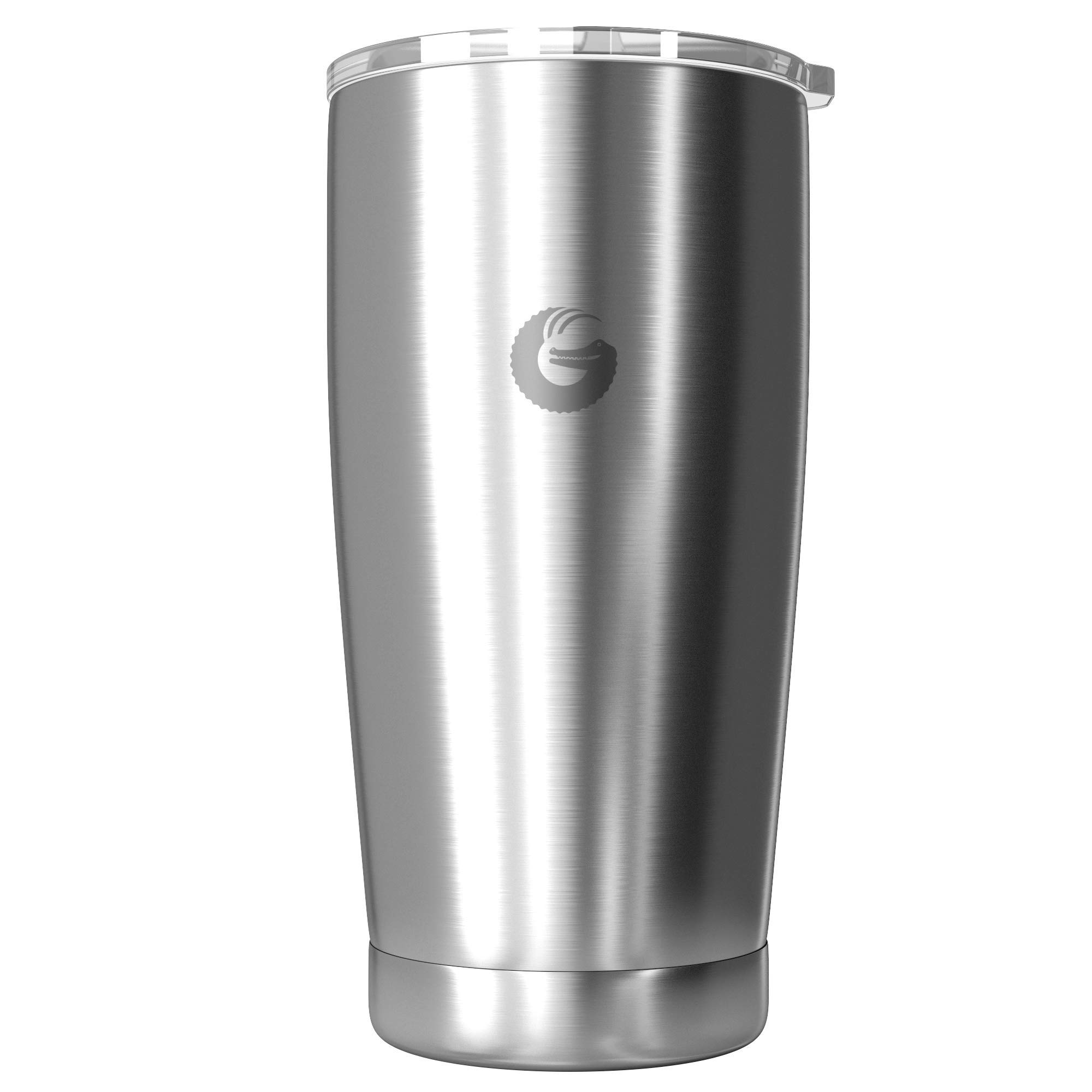 Coffee Gator Pour Over Coffee Maker - All in One Thermal Travel Mug and Brewer - Vacuum Insulated Stainless Steel - 20 ounce - Silver by Coffee Gator (Image #2)