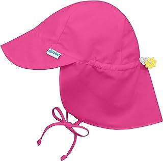 i play. Chapeau de protection solaire avec rabat, Rose, 0-6 mois 25016
