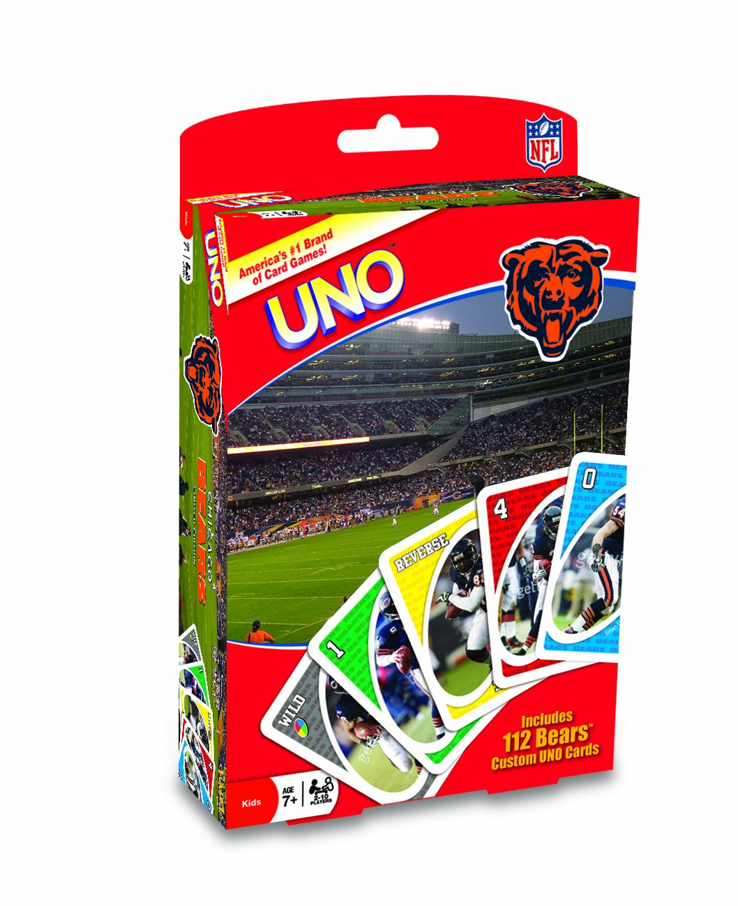Fundex Games Chicago Bears Uno