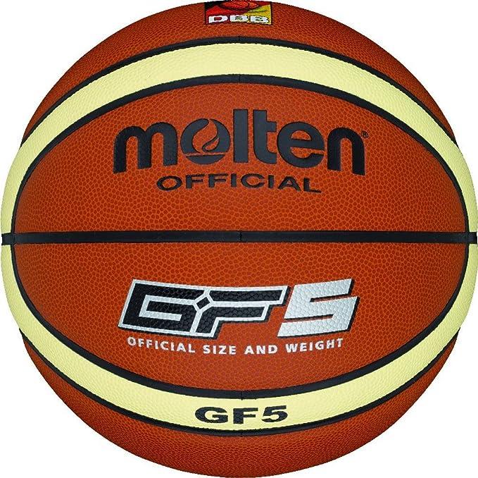MOLTEN - Balón de Baloncesto Naranja Talla:6: Amazon.es: Deportes ...