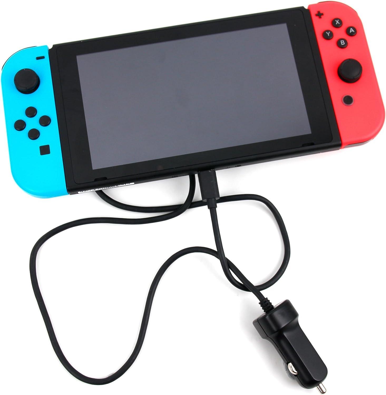 Cargador de coche tipo C para Nintendo Switch pantalla 6,2