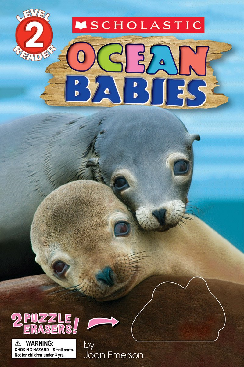 Read Online Ocean Babies: With Erasers (Scholastic Reader, Level 2) PDF