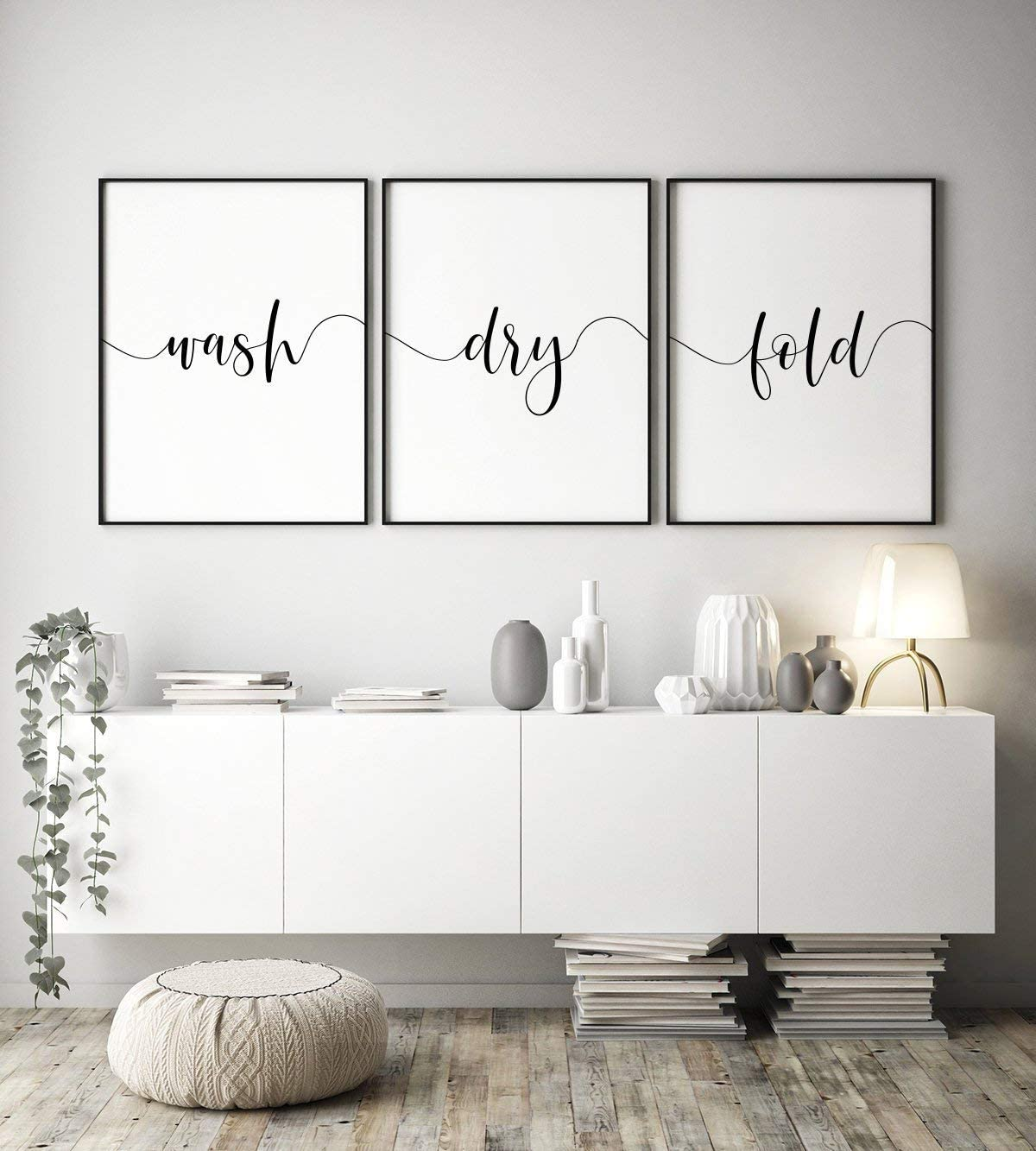 Malertaart Wash Dry Fold Set Of 3 Printables Laundry Print Triptych Wall Art Laundry Room Decor Laundry Sign 3 Piece Prints Instant Download Framed Wall Art Amazon Ca Baby
