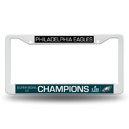 Amazon.com : NFL Philadelphia Eagles Super Bowl LII Champs Plastic ...