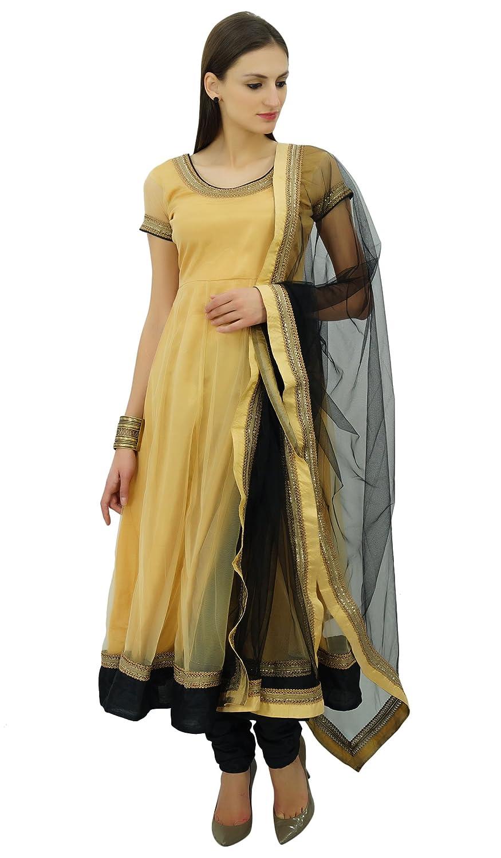Atasi Womens Braut Anarkali Salwaar Anzug mit Dupatta indischen ethnischen schickes Kleid benutzerdefinierte Kleidung - Größen erhältlich