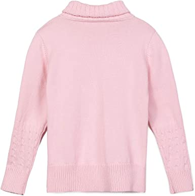 Amazon.com: JUNCHIO Girls Sweaters Pullover Long Sleeve Knit Sweater:  Clothing