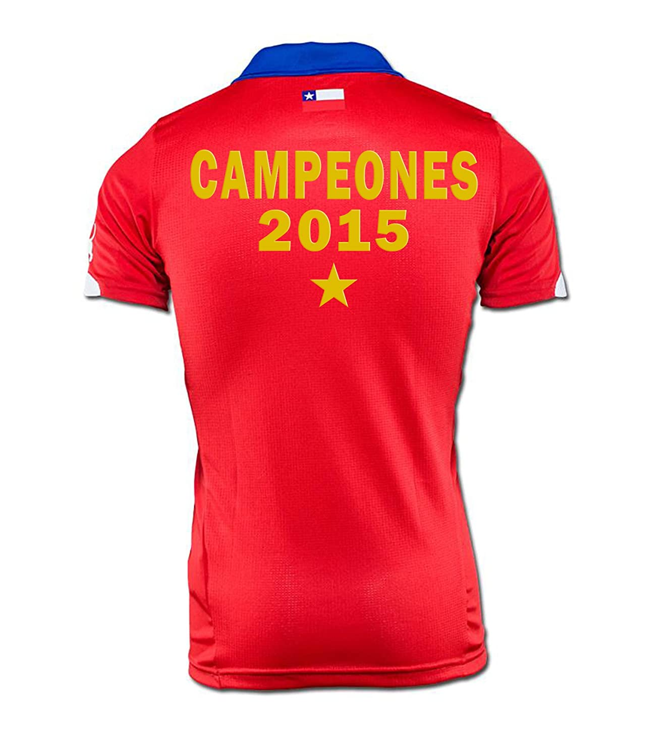 Campeones 2015チリホームジャージーSpecial Edition B0113A9NYYXL