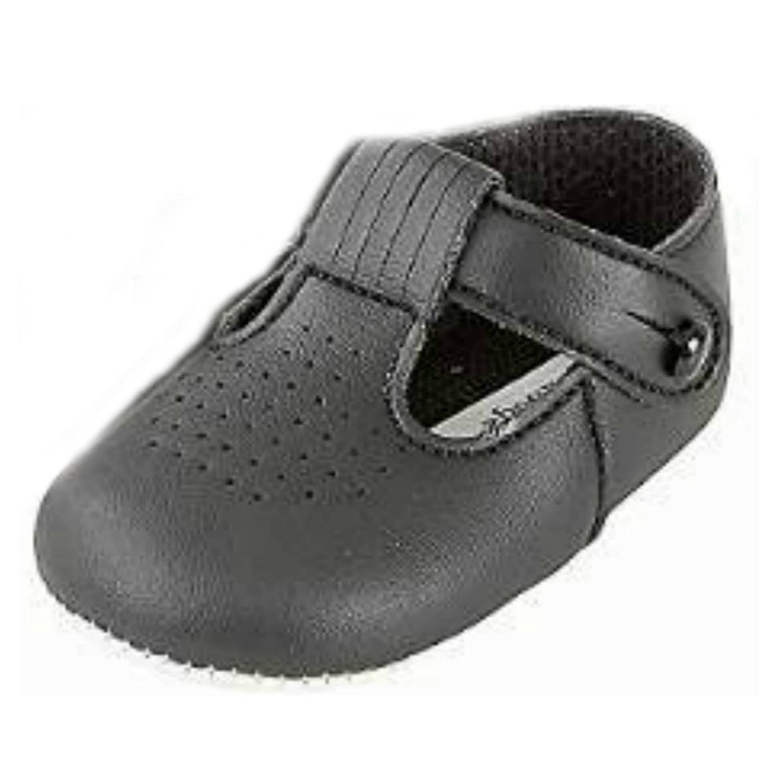 Baby and toddler boys pram shoes from birth to 18 months Various