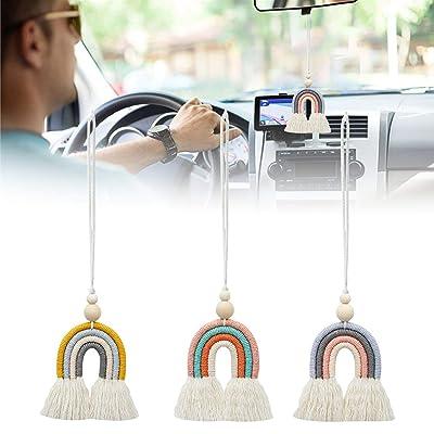 Essential Oil Diffuser Macrame Car Diffuser Car Charm