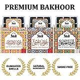 Dukhni Oudh Bakhoor Incense Det Of 3 (Aini, Khaleeji & Ibtisam) 9 Pcs Ech
