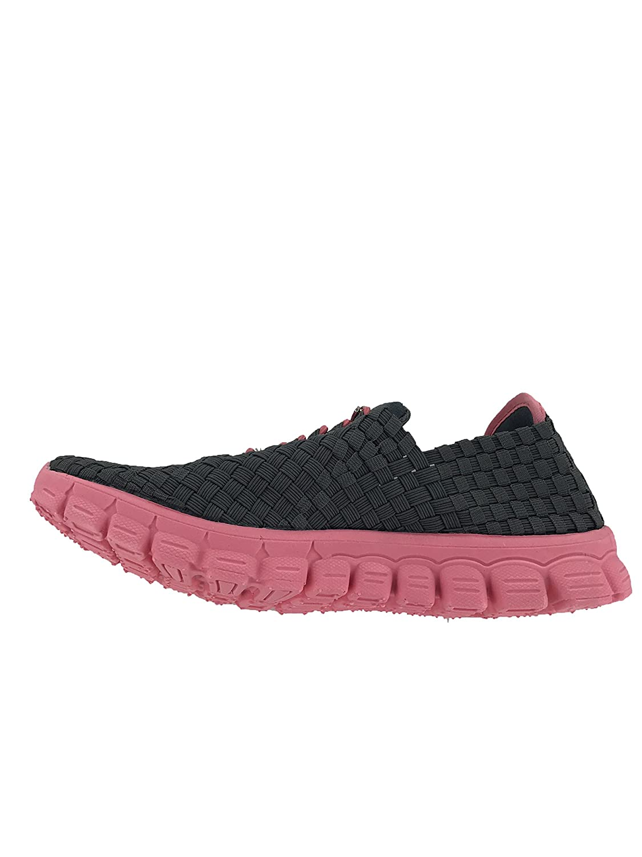 Zee Alexis Women's Danielle Sneaker B07DWH7424 6 B(M) US|Charcoal/Melon