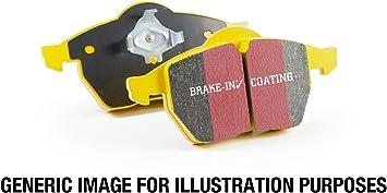 DP41749R Yellow Stuff Performance Rear Brake Pads EBC Yellowstuff