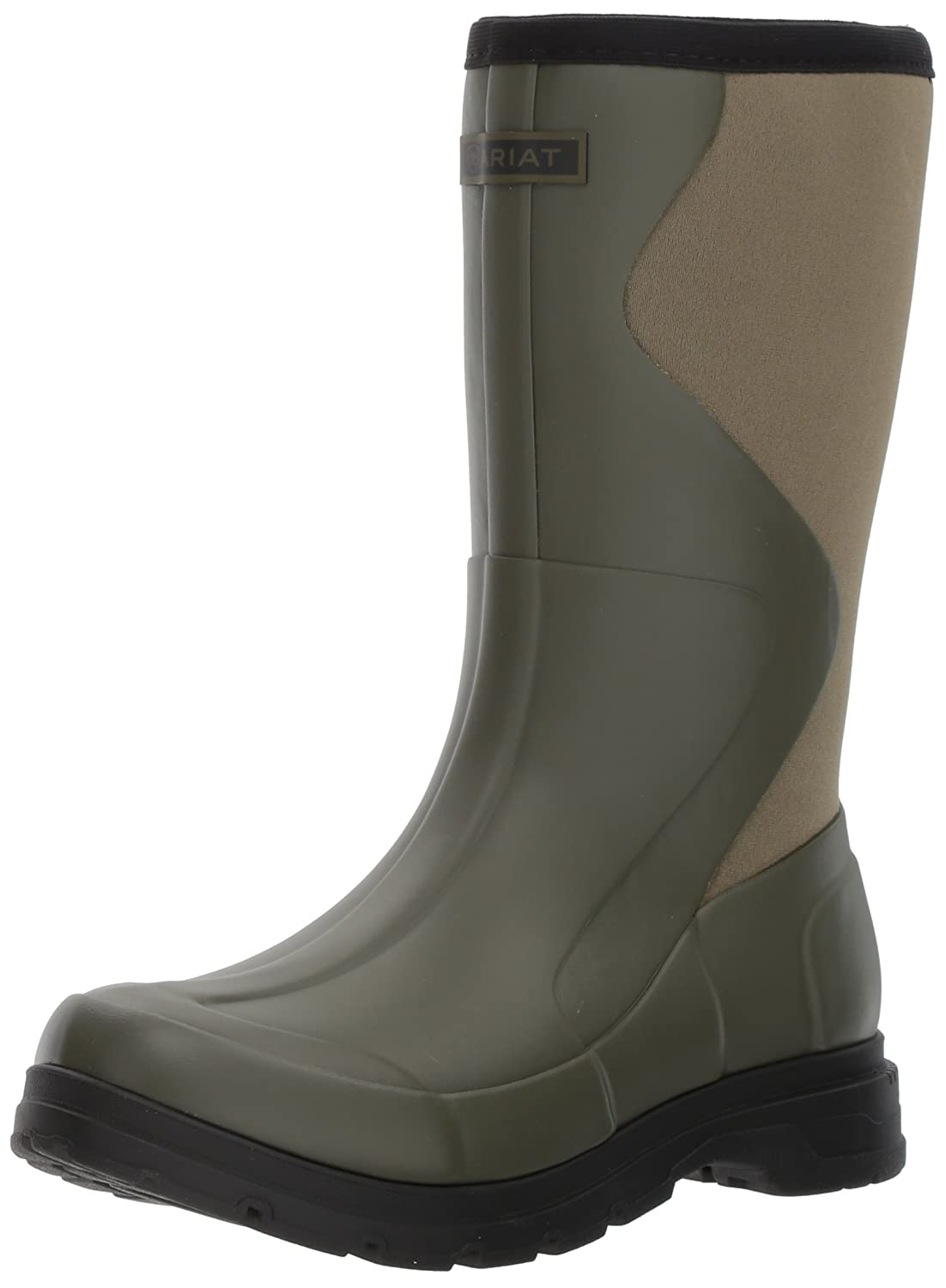 Ariat Women's Springfield Rubber Work Boot B01MSD1DT6 8 B(M) US|Olive Green