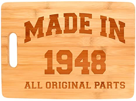 70th Birthday Gifts For Women Made 1948 All Original Parts Party Big Rectangle