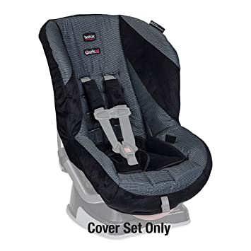 Britax Roundabout Convertible Car Seat Cover Set Onyx By USA