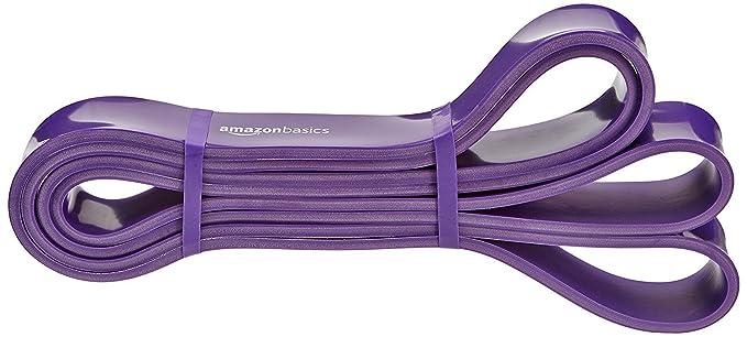 AmazonBasics - Banda elástica de resistencia y dominadas, 18,2 a 36,3 kg (3,18 cm de ancho): Amazon.es: Deportes y aire libre