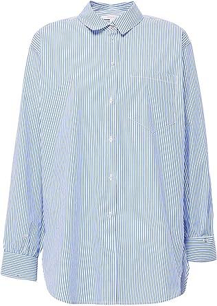 Esprit Camisa Mujer Mil Rayas Oversize XS: Amazon.es: Ropa y accesorios