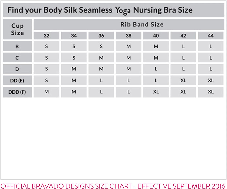 DESIGNS Womens Body Silk Seamless Yoga Nursing Bra BRAVADO