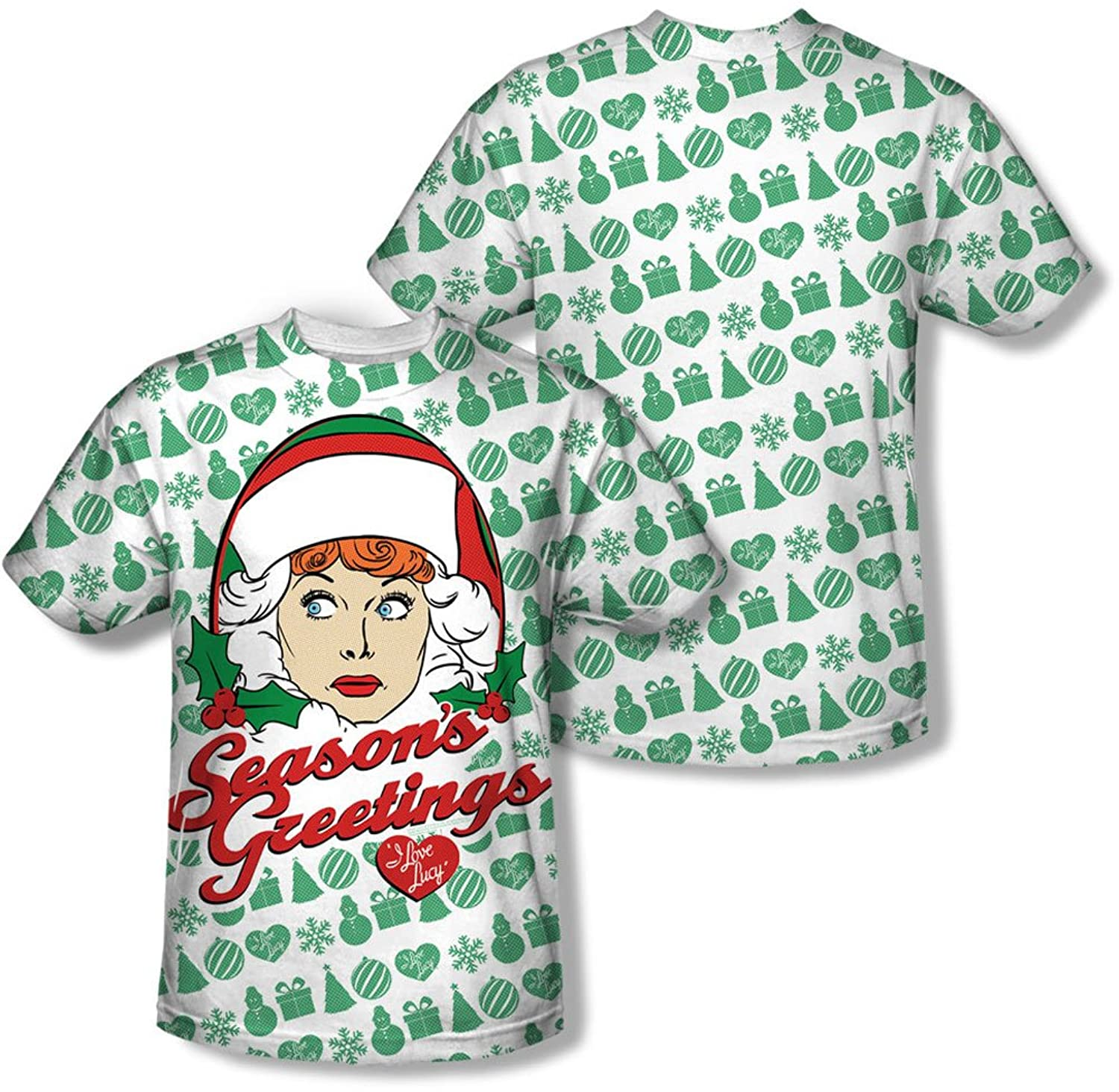 Lucy - Mens Holiday Pattern T-Shirt