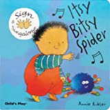 Sign and Sing Along: Itsy Bitsy Spider (Sign & Singalong)