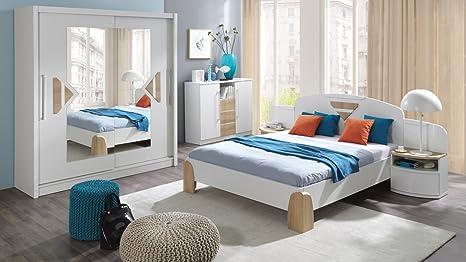 Nuovo moderno set di mobili per camera da letto notte armadio ante ...