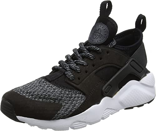 Nike Air Huarache Run Ultra Se, Zapatillas Unisex niño, Negro ...