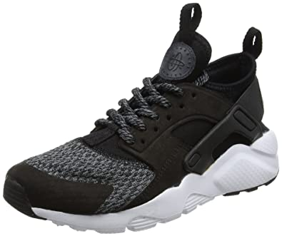 NIKE Air Huarache Run Ultra Se, Baskets Mixte Enfant, Noir Black-Anthracite-