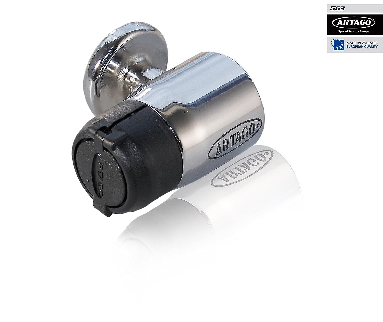 Artago 563C/B Antirrobo Disco Moto Eje 14mm: Amazon.es ...