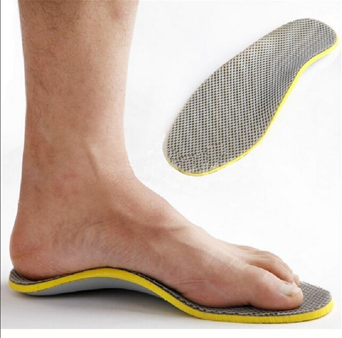 SOURBAN Foot 3D Flat Feet Arch Support Insoles Comfort & Relief from Flat Feet